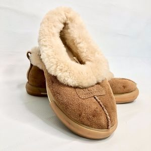 UGG Wrin Sherling Slipper Chestnut